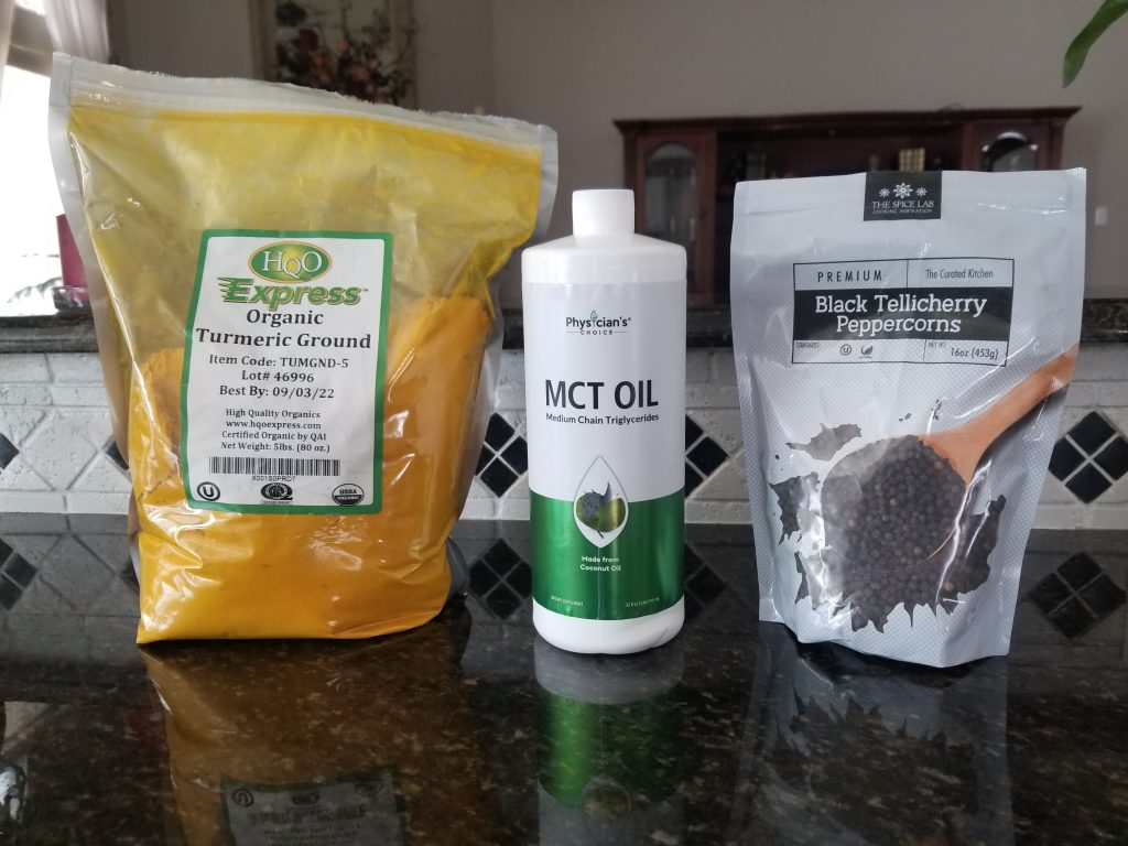 Turmeric MCT Oil Black Pepper